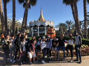 students at great america