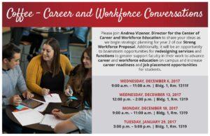 Coffee Career and Workforce Conversations-Postcard