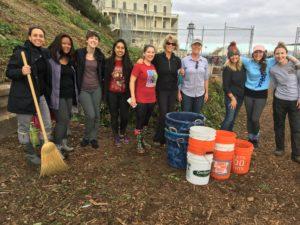 staff at Alcatraz