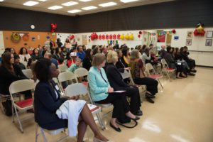 Attendees of the Early Childhood Education End of Year Celebration