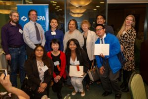 CalCPA student scholarship dinner fall 2018