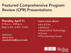 Comprehensive Program Review