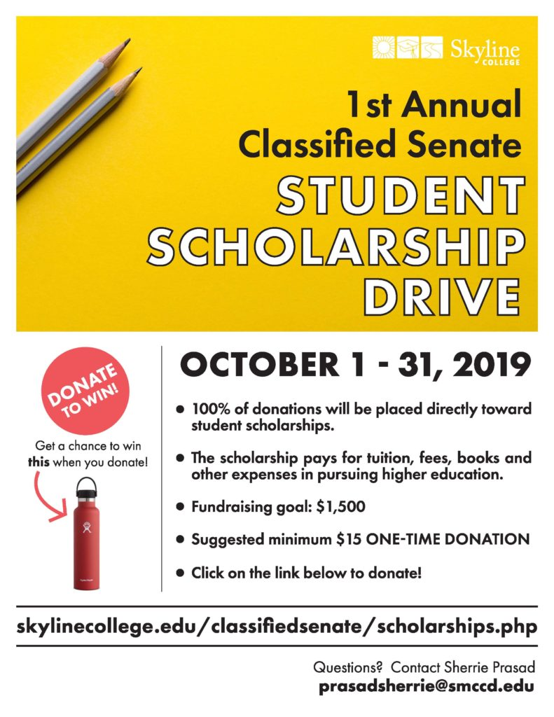 Academic Senate Scholarship Drive