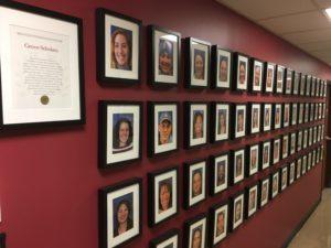Grove Scholars wall