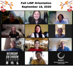 Fall IJSP Orientation September 18, 2020