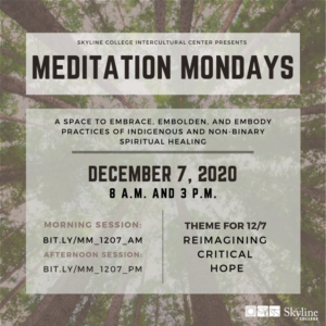 Meditation Mondays Flyer