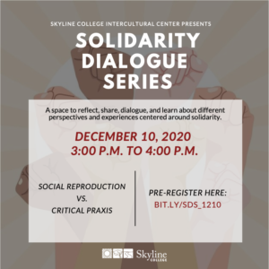Solidarity Series Flyer
