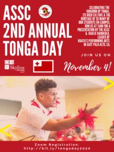 Tonga Day Flyer