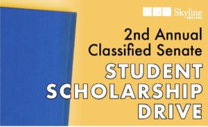 Student Scholarship Drive Flyer