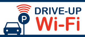 Drive-Up Wi-Fi Graphic