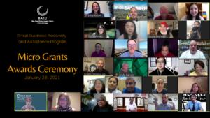 Micro Grant Ceremony
