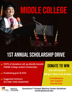 Middle College Scholarship Drive