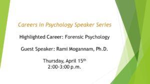 Forensic Psychology Slide