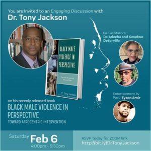 Psychology Professor Tony Jackson Shares his Book