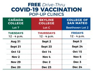 Vaccine Clinic Schedule