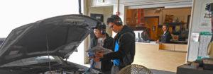automotive students